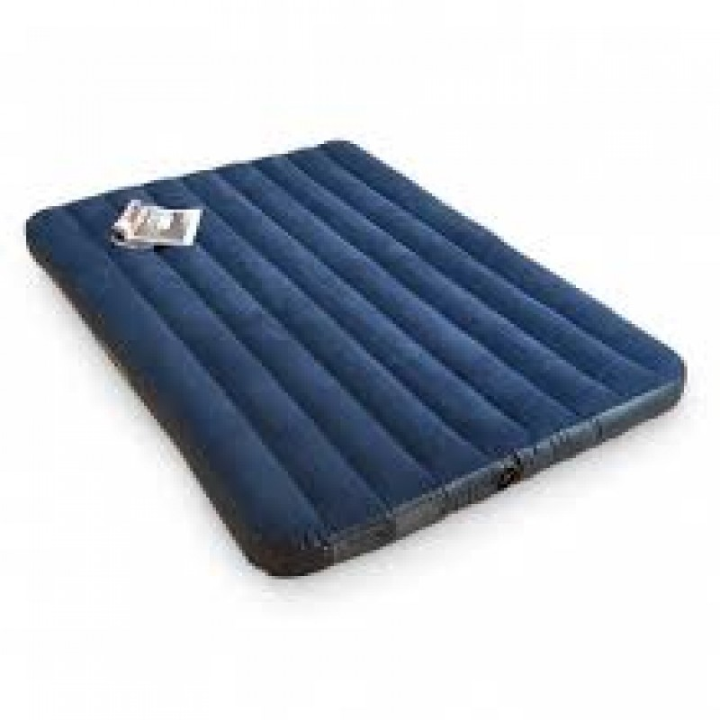 """Classic Downy Bed Inflatable Air Mattress Intex 68759 60/""""x80/"""" - Queen Size"""