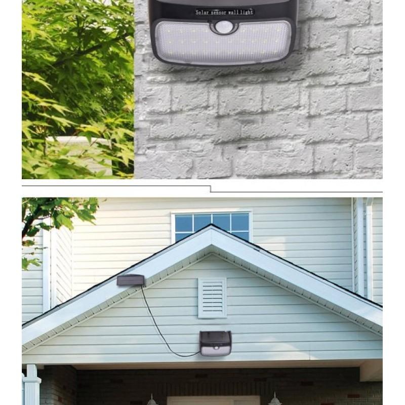 superb exterior house lights 4. 38 Led Solar Motion Sensor Light, Super Bright Waterproof With Detachable Panel, Outdoor, Superb Exterior House Lights 4