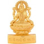 Shri Lakshmi Gold Plated Idol-11Cm For Money & Prosperity With Laxmi Yantra Free As Seen On TV@799 MRP-Rs.1699/- On 60% Off