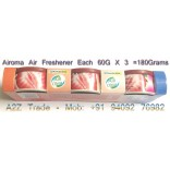 Air Freshener-Airoma, Low Can Car Soild Can, 60g x 3PC, Imported, On Discount Price, MRP: US$ 10, Offer Price Rs.299/-