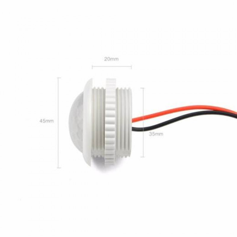 Ac 220v Pir Motion Sensor 45mm To Turn On Off Ir Infrared