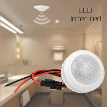 AC 220V PIR Motion Sensor-45mm To Turn ON-OFF IR Infrared Human Body Motion Sensor Light Control Detector, Imported From USA