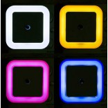 Auto Sensor LED Night Light-Litwod Z20, Squre Lighting White Yellow Blue Red, For Home Indoor Imported From USA