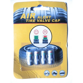 Car Auto Tire Pressure Sensor Valve System Caps Indicator Alert 4Pcs In 1 Set Imported From USA