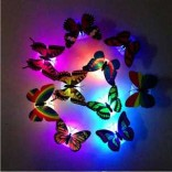 Colorful Changing 2017 Newest Birthday Gifts, 5 Butterfly LED Night Light For Birthday Party Wall Decor Imported From USA