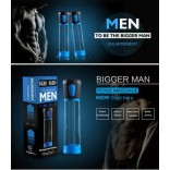Electric Penis Pump Penis Enlargement Pump Enlarge Automatic Vacuum Suction Penis Pump Sex Toy Adult Product for Men M No.2010