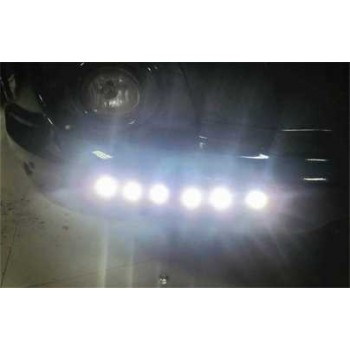 High Power Eagle Eye 12V 6W 23mm Astern White LED Light 200lm 6000K Car Eagle Eye-Black Imported From USA
