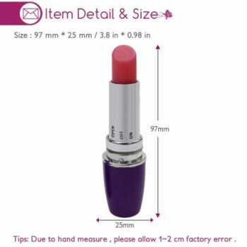 Mini Lipstick Vibrator, Magic Wand Vibrator Massager, Adult Product For Single And Working Women, Imported From USA