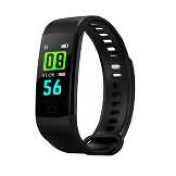 Smart Watch-Goral Y5 0.96 Inch Smart Wristband Color Screen Blood Pressure Heart Rate Monitor Sport Bluetooth, Imported