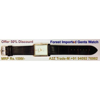 Copper Case Man's Watch-Forest For Trendy Look On 50 % Discount, Imported