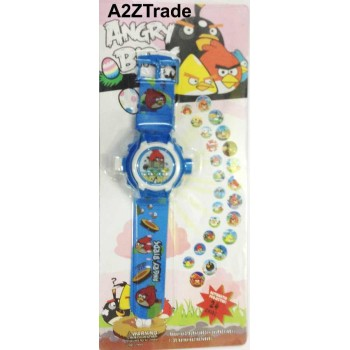 LED Projector 24 Cards Digital Kids Watch for Only $9.99 + Shipping for Everyone, Cartoon Unisex slap watch Kids Girls Boys Quartz Wrist Watches