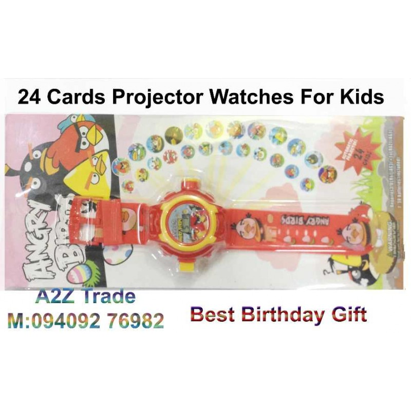 Projector 24 Cards Digital Kids Watch for Only $9.99 + Shipping ...