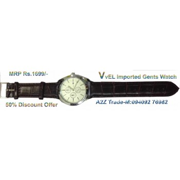 Fancy Man's Watch For Trendy Look On 50 % Discount, Imported
