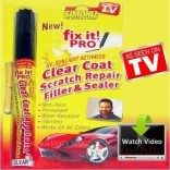 Fix it Pro-Scratch Remover Pen- A Clear Coat Applicator, Scratch Repair-Filler & Sealer(MRPRs.1999/) With Cogent Anti Radiation Mobile Chip (MRP:499) Free,