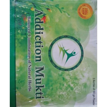 Addiction Mukti- Mrp Rs.2990 + Shipping Rs.300 =Rs.3290 Offer Price Rs.1899.00