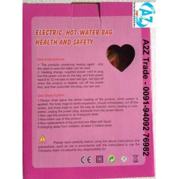 Electric Hot Water Bag, Electro thermal Charging Water Bag,