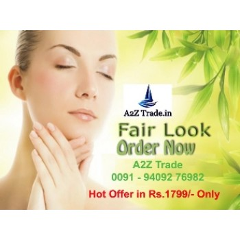 Fair Look Cream-Ayurvedic Preparation for Fair And BeautifulSkin With Bi Feather King Hair Remover On 40% Off