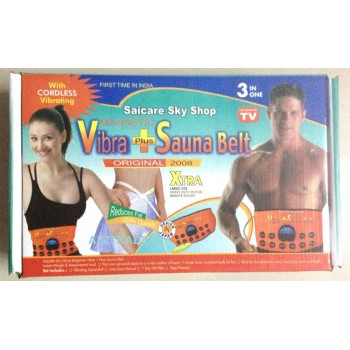 3 in 1 Vibra Plus Sauna Belt-Saicare@40% Off
