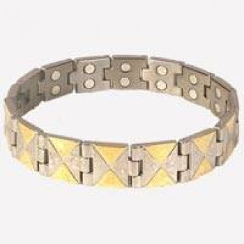 Titanium Bio Magnetic Bracelet 3000Goss - for Health & Pain Relief, On 70% Discounted Rate SEEN ON TV + Cogent Mobile Chip