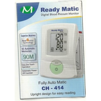 Digital Blood Pressure Monitor-Ready Matic CH414, On 50% Off, Offer Rs.995/- Instead of Rs.1999/-