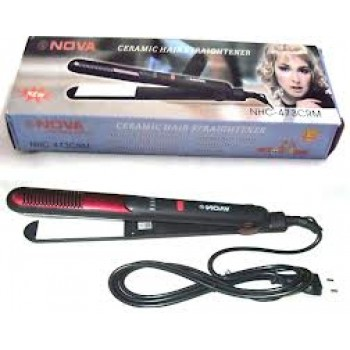 Nova Ceramic Hair Straightener@50%Off+Eye Cool Mask-To Remove Dark Circle Free