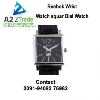 Reebok Square Dial Gents & Ladies Watch, Seen On TV,