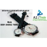 British Polo Club Pair Watch, Gents & Ladies Watch -BPC-050 And BPC-051,Seen On TV,