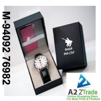 British Polo Club Gents Watch -BPC-060,Watch, Seen On TV,