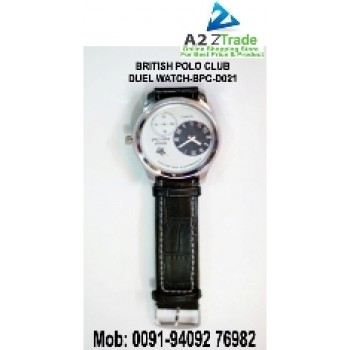 British Polo Club Dual Watch, For Ladies And Gent's -BPC-D021,Seen On TV