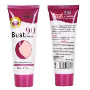 Bust 90 Breast Enlargement Cream To Increase Breast, 50g Massage, Enhancement, Breast Tightening Cream Imported