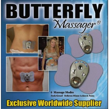 Butterfly Massager to Replaces Monotonous Sit Ups And Exercise.BUY 1 GET 1 FREE