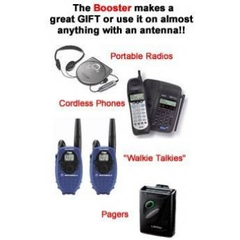 Cell Phone Signal Booster-New & Improved -2 + Cogent Anti Radiation Mobile Chip -2