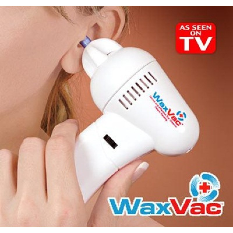 Wax Vac Electric Ear Vacuum Cleaner Kit Safe Hygenic Gentle Seen On Tv Imported