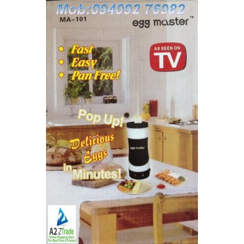 Egg Master - Original & Imported -Gift An Electric Egg Boiler This New Year On 50% Off-Seen On TV Price:3999/-