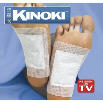 Kinoki Cleansing Detox Foot Pads - Cleanse and energize your body and experience-50%Discount