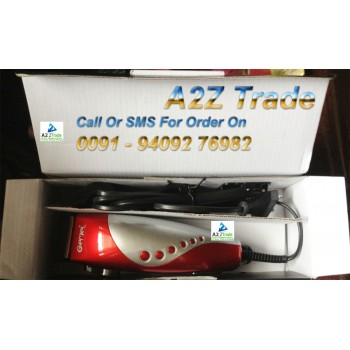 Gemei Rechargeble Hair Clipper GM-1025 (MRP-2199/-) @ 60% Discounted Price, With Quantum Science Scaler Pendent- Worth Rs.799/-,