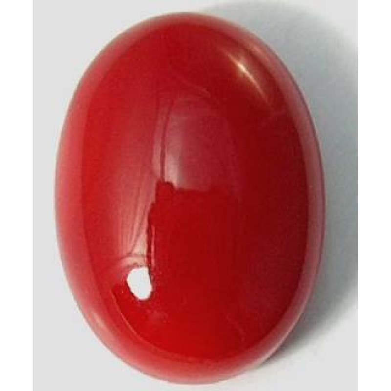 Coral Gemstone-Ring And Pendent -MRP Price - 5 1/4 Ratti Ring ...