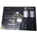Dexe Hair Building Fiber Full Kit With Hair Locking Spray & Hair Cleaning Shampoo-Hair Loss Solution For Men & Women On Discount Price,Imported From UK,