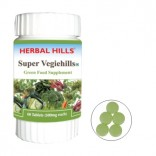 Super Vegiehills-VG558-Green Food, 60 Tablets