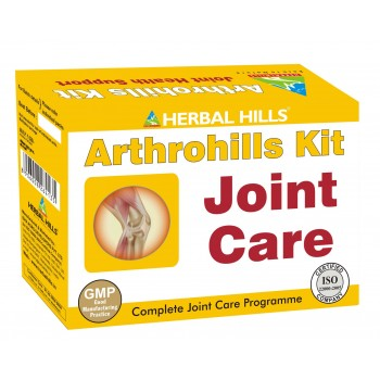 Arthrohills Kit-Herbal Hill For Joint Care- Combo Pack of Oil & Capsules
