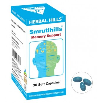 Shankhapushpihills-SP075-700 Capsules To Support And Boost Memory And Brain Power