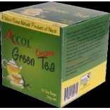 ACCOL Organic Green Tea-20 Bags,2,Original, Imported From Nepal,