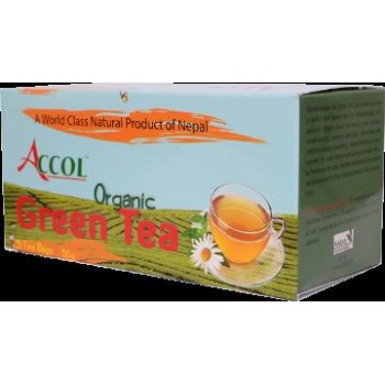 ACCOL Organic Green Tea-140 Bags,Original,Imported From Nepal,