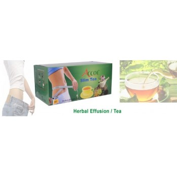 ACCOL Organic Slim Tea-120 Bags,Original,imported From Nepal,