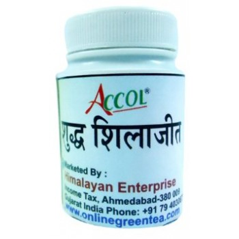 ACCOL SHILAJIT-The Wonder Medicine of Ayurved,Original, 100% Natural,
