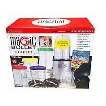 Magic Bullet 21 in 1 Mixer Blender Juicer 21 Pieces Kitchen Food Processor