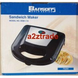 BANSONS Sandwich Maker-GOLD SERIES, Price-42US$ on 50% Discount
