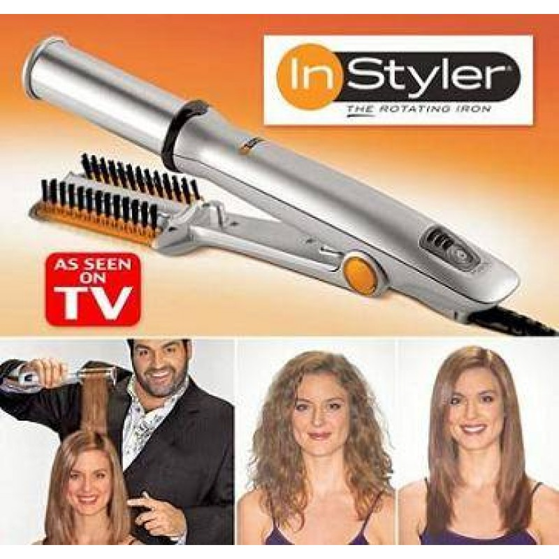 Instyler A Rotating Amp Cylinder Amp Hot Iron For New Styling