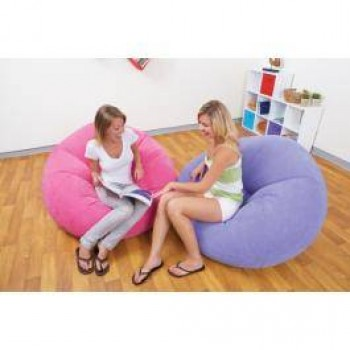 Intex Inflatable Air Bin Chair--68569, With Pump - AS SEEN ON TV