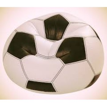 Intex Inflatable Football Beanless Bag-68557NP, WITH PUMP - AS SEEN AS ON TV